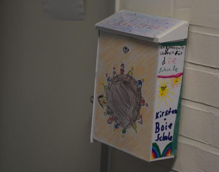 Briefkasten des Schülerrtats
